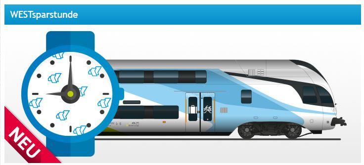 Westbahn.at - Westsparstunde (von 10:00 - 11:00 Uhr) Eines von 555 Tickets um € 9,99 sichern