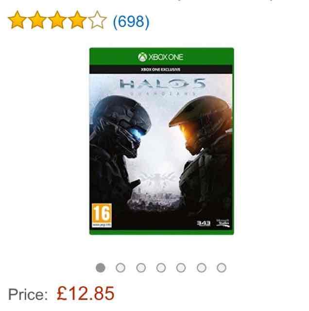 Halo 5: Guardians (Xbox) um 20€