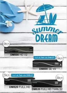 Dreambox Summer Sale bis zu 37% sparen