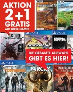 Libro: 2+1 Gratis bei div. Games (PS4 / Xbox One / PC)