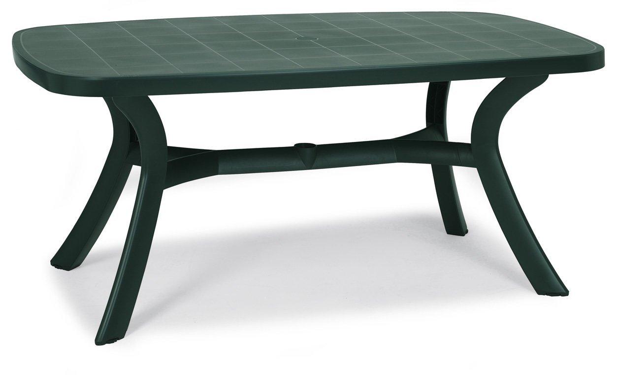 """[Amazon] Tisch """"Kansas"""" (oval 145 x 95 cm, grün, schwere Ausführung) für 39,13€ statt 99,99€"""