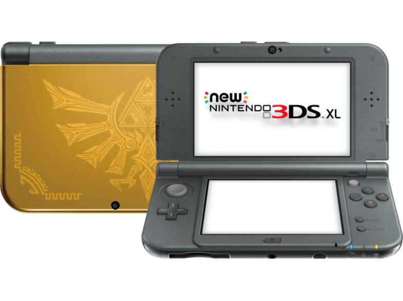 [mediamarkt.at] NINTENDO UE New Nintendo 3DSXL Hyrule Edition für 167 - 18% sparen
