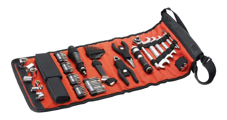 [Amazon Prime] Black + Decker A7144-XJ Handliche Rolltasche mit Autowerkzeugzubehör (76-teilig) für 27,30€