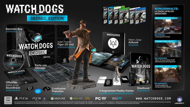 [Amazon Prime] Watch Dogs - Dead Sec Edition - 14,97€ (PC)