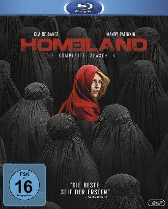 [Amazon Prime-Deal] Homeland - Season 4 [Blu-ray] für 19,97 EUR
