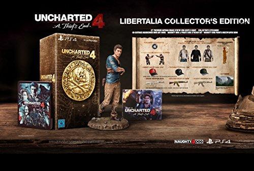 [Amazon.de] Uncharted 4: A Thief's End - Libertalia Collector's Edition - (PlayStation 4) für 79,99€ - 33% sparen