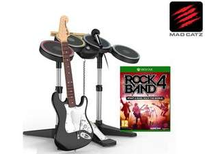 iBood: Rock Band 4 Band-in-a-Box Bundle (Xbox One) für 78,90€