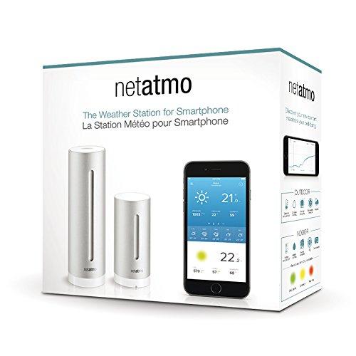 Amazon: Netatmo Wetterstation für iPhone, Android und Windows Phone für 109,99€