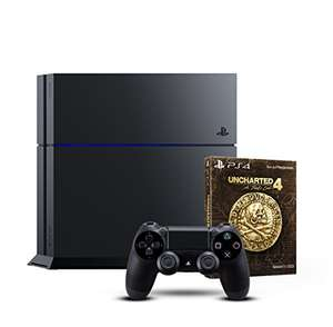 Playstation 4 + Uncharted 4 um 259€!