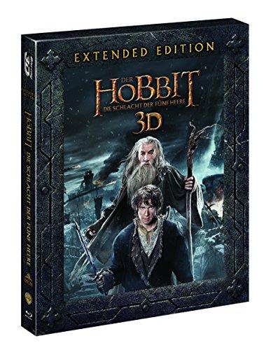[Amazon.de][Prime] Der Hobbit 3 - Die Schlacht der fünf Heere - Extended Edition [3D Blu-ray] für 11,97€ - 57% sparen