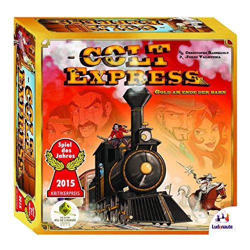 Ludonaute 217632 - Colt Express, Brettspiel, Spiel des Jahres 2015 für 9,99 EUR