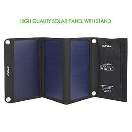 Solar Lader 21W + Doppel USB für 39,99€ Für den Sommer @amazon.de
