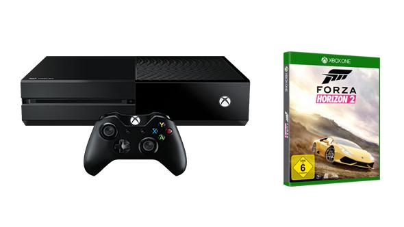 Xbox One 500GB Forza Horizon 2 Bundle inkl. zweiten Controller + Halo 5 + Forza 6 um 279€
