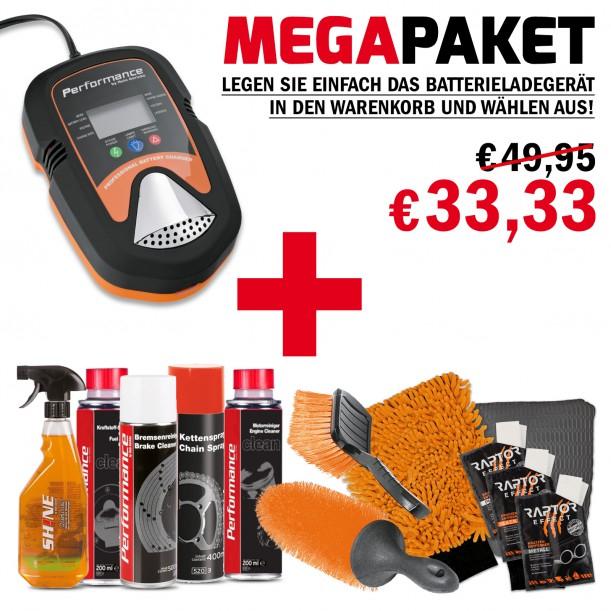 [Hein Gericke] TOP! Zweirad Wartungs- und Pflegepaket inkl. Batterieladegerät um 33,33€ statt 108,49€!