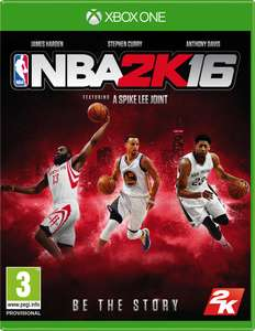 NBA 2K16 XBOX ONE @amazon.de für 14,99€