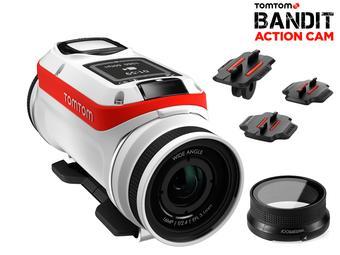 iBood: TomTom Bandit 4K-Action-Cam-Starterset mit Unterwasserlinsen-Abdeckung für 205,90€