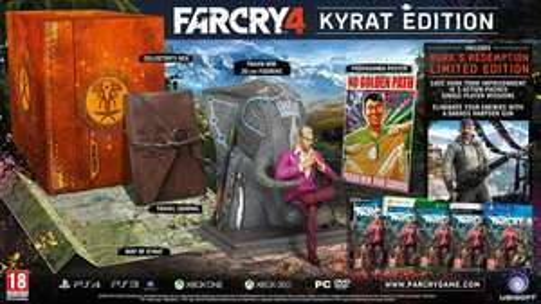 Uplay Shop: Far Cry 4 - Kyrat Edition (PS4 / Xbox One) für 21,24€ / 3 Stück für 36,75€!