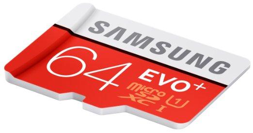 Samsung MicroSDXC EVO Plus (64 GB) um 12 € - 35% sparen