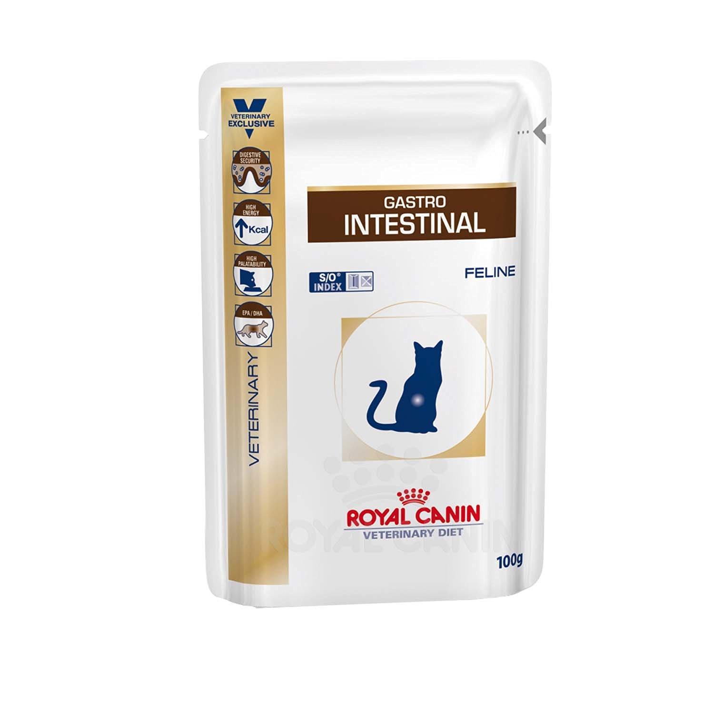 [Amazon.de][Plus Produkt] Royal Canin Gastro Intestinal Frischebeutel für Katzen 12x 100g um 2,29€