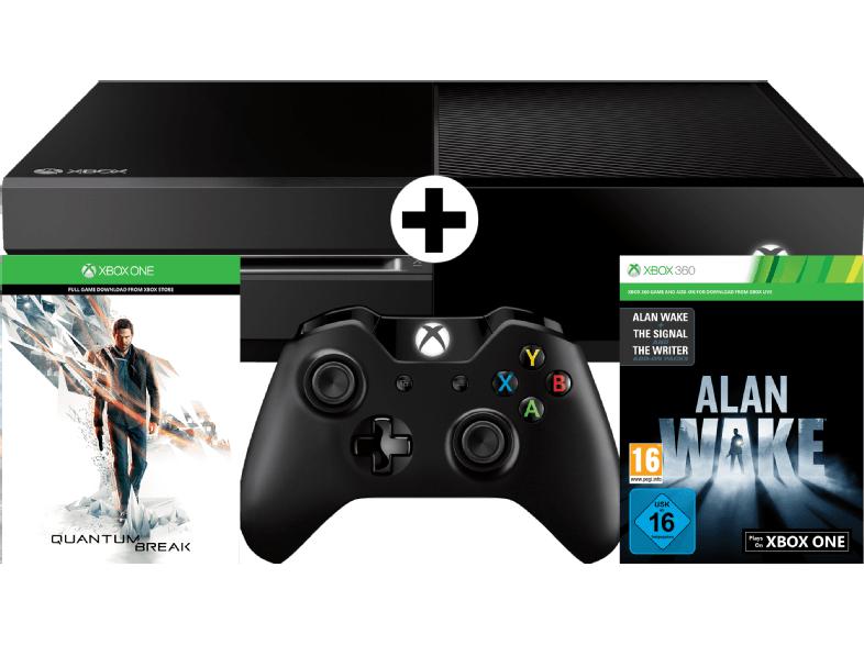 [mediamarkt] Xbox One 500 GB mit Quantum Break (download) + Alan Wake (download) für 189€ - 27% sparen