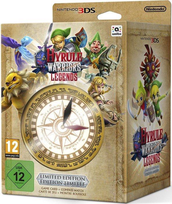 Saturn: Hyrule Warriors: Legends (3DS) für 16€ - Limited Edition für 25€