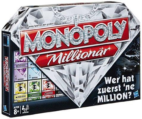 Hasbro: Monopoly Millionär um 17€ (Prime)