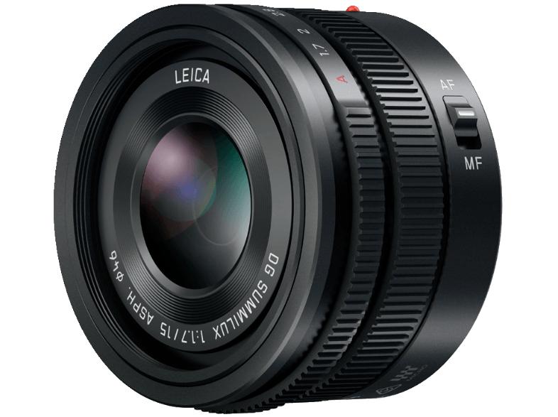 (Saturn bei Marktabholung) Panasonic LEICA DG SUMMILUX 15mm f1.7 H-X015E-K für nur 411,-