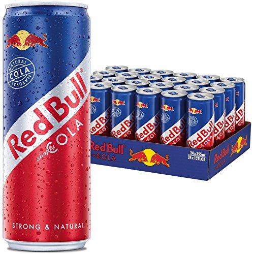 Amazon Blitz: 24x RedBull Cola (0,33l) um 21,36 € - 31% sparen