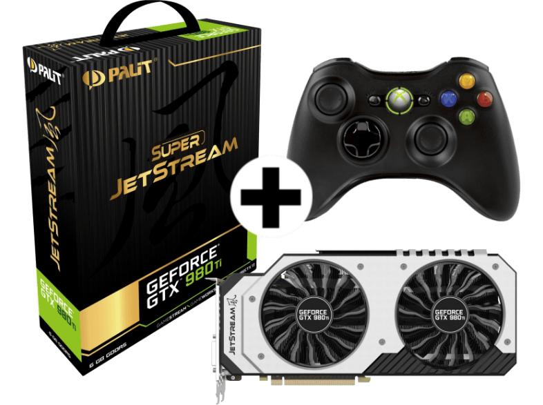 Saturn.at: Palit Geforce GTX 980 Ti Jetstream + Xbox-360-Controller für 379€