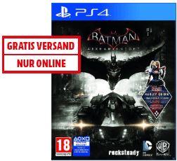 [Mediamarkt.at]PS4 - Batman: Arkham Knight Day-1-Edition/SE für €17,- versandkostenfrei!