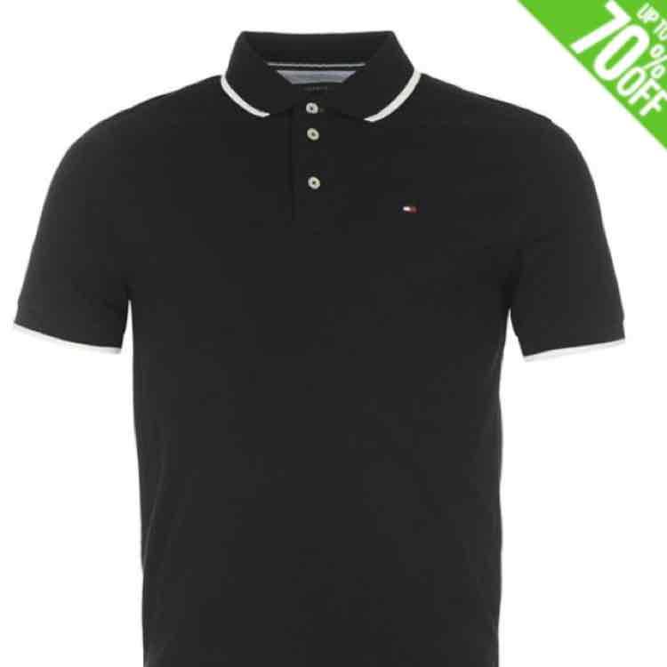 Tommy Hilfiger Herren Poloshirts um EUR 23,99
