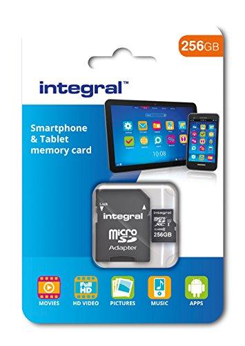 Integral microSDXC (256 GB) um 23,49 € (Amazon Vorbestellung)