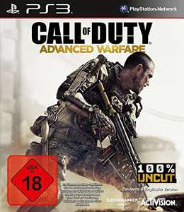 (PS3) Amazon: Call of Duty: Advanced Warfare um 5,81 € - 79% sparen