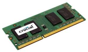 Crucial 1GB DDR Arbeitsspeicher (400MHz PC3200 / UDIMM 200pin / CL3)