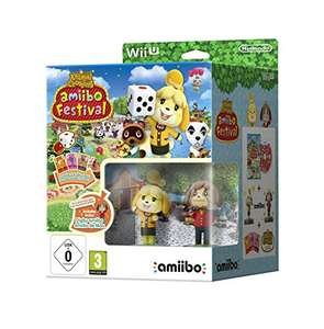 [www.AMAZON.de] Animal Crossing: amiibo Festival + 2 amiibo-Figuren + 3 amiibo-Karten - [Wii U] € 8,62