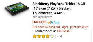 Blackberry PlayBook Tab