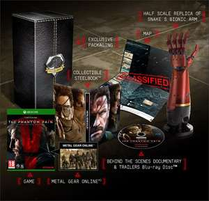 Amazon: Metal Gear Solid V: The Phantom Pain - Collector's Edition (Xbox One) für 34,64€