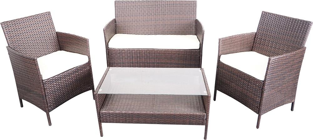[Zgonc] Lounge-Möbel-Set 4-teilig für 154,90€