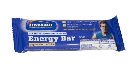"""25x Maxim Energy Bar """"Cappuccino Caffeine"""" um 8,79 € - 80% sparen"""