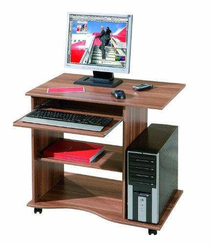 Mobiler Computer-Schreibtisch (walnuss) um 39,90 € - 47% sparen