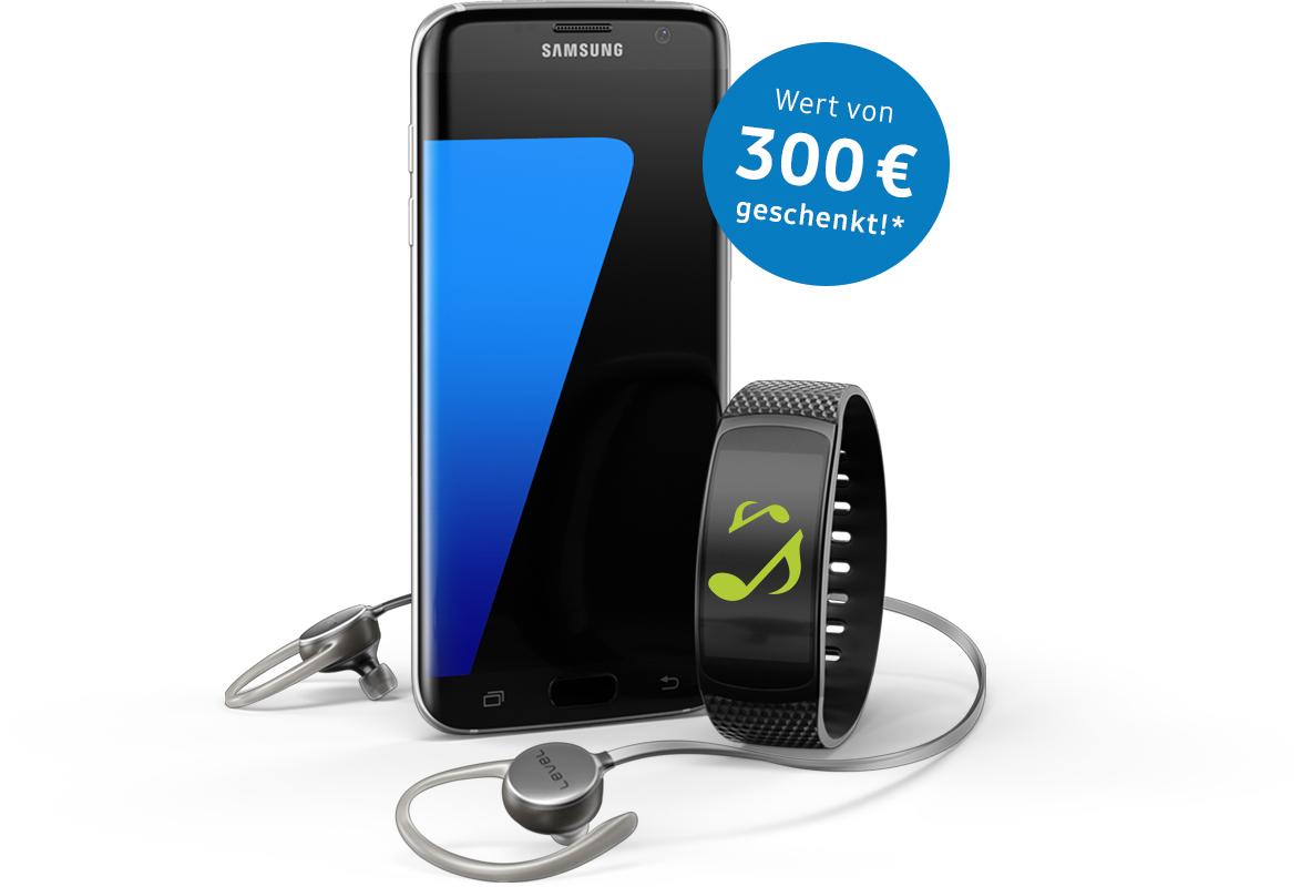 Samsung S7 (edge) kaufen und Gear Fit 2 und die Level Active geschenkt bekommen