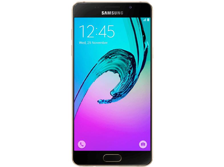 Samsung A5 (2016, gold) um 240 € - Bestpreis