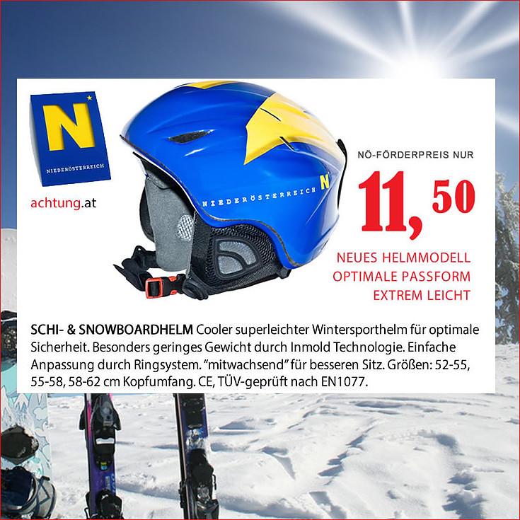 NÖ-AKTION: Fahrradhelme um 6€ / Ski- & Snowboardhelme um 11,50€