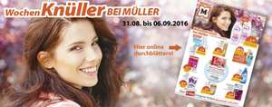 [Müller] Aktuelle Prozentaktionen - z.B. 25% Rabatt auf Mirabell und Suchard