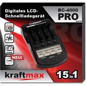 BC-4000 Ladegerät + 8x Akkus AA+AAA (wie Eneloop Pro) [Amazon Gutscheinfehler?!]