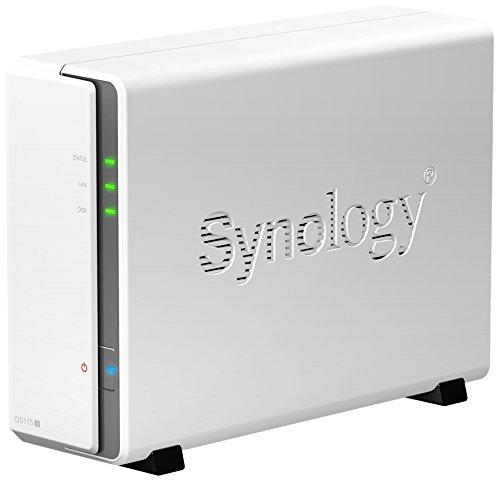 Synology DiskStation DS115j NAS mit 3TB WD Red Festplatte - 20% Ersparnis