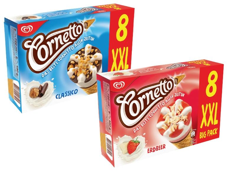 [Lidl] Cornetto 8 Stück für 2,22€ - 0,28€ pro Stück!