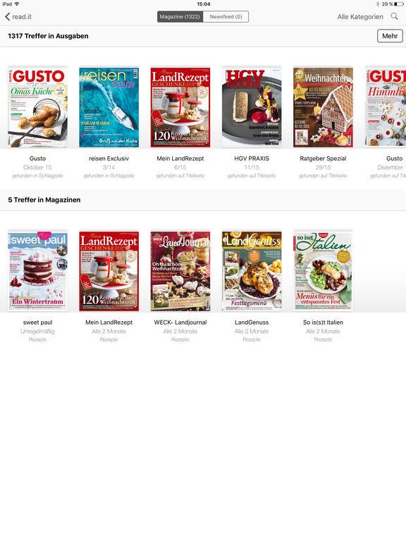 Magazine und Zeitungen kostenlos lesen (Android, iOS)