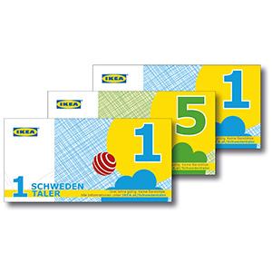 [www.IKEA.at] IKEA-Card Mitglieder Schwedentaler für Kinder bis 10 Jahre