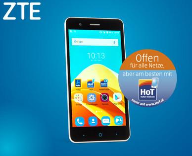 [Hofer] ZTE A510 Smartphone für 99,90€ ab 15.9.